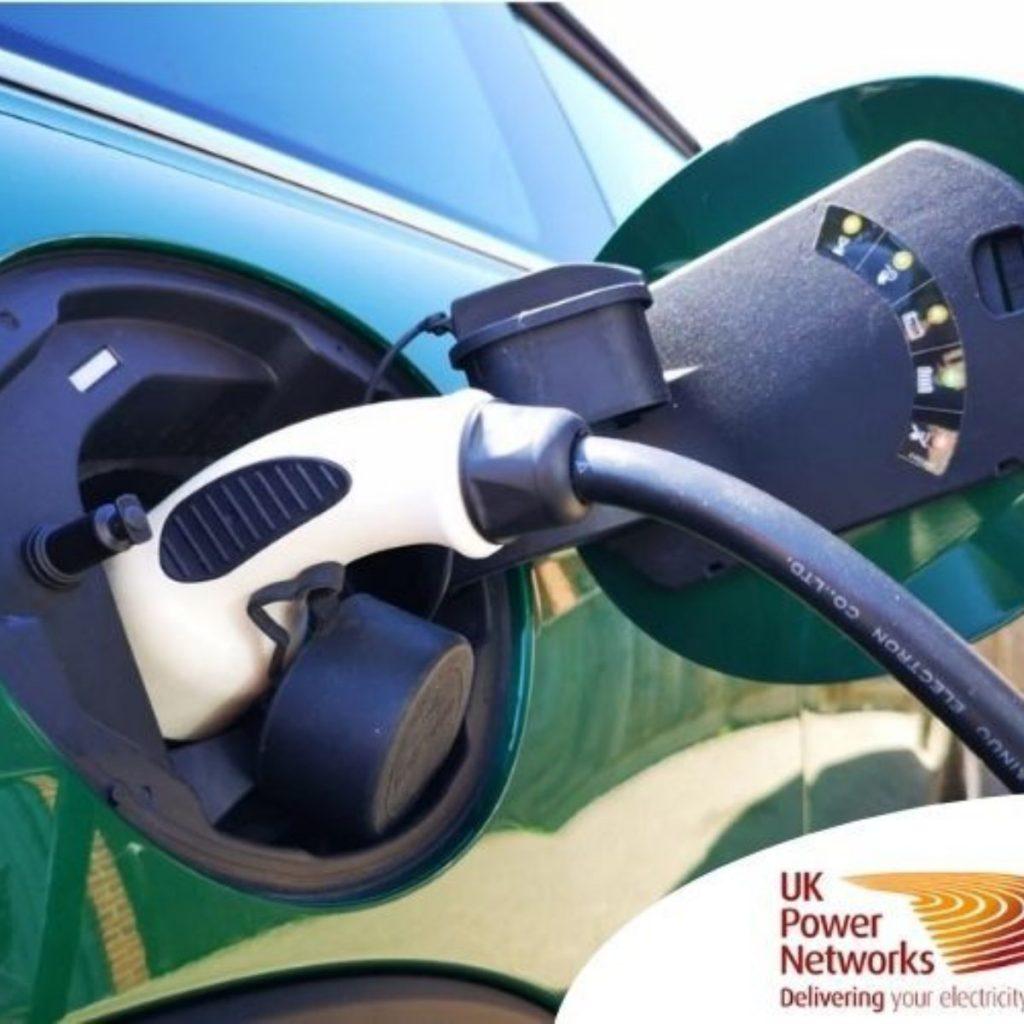 EV shift smart charging UK Powernetworks