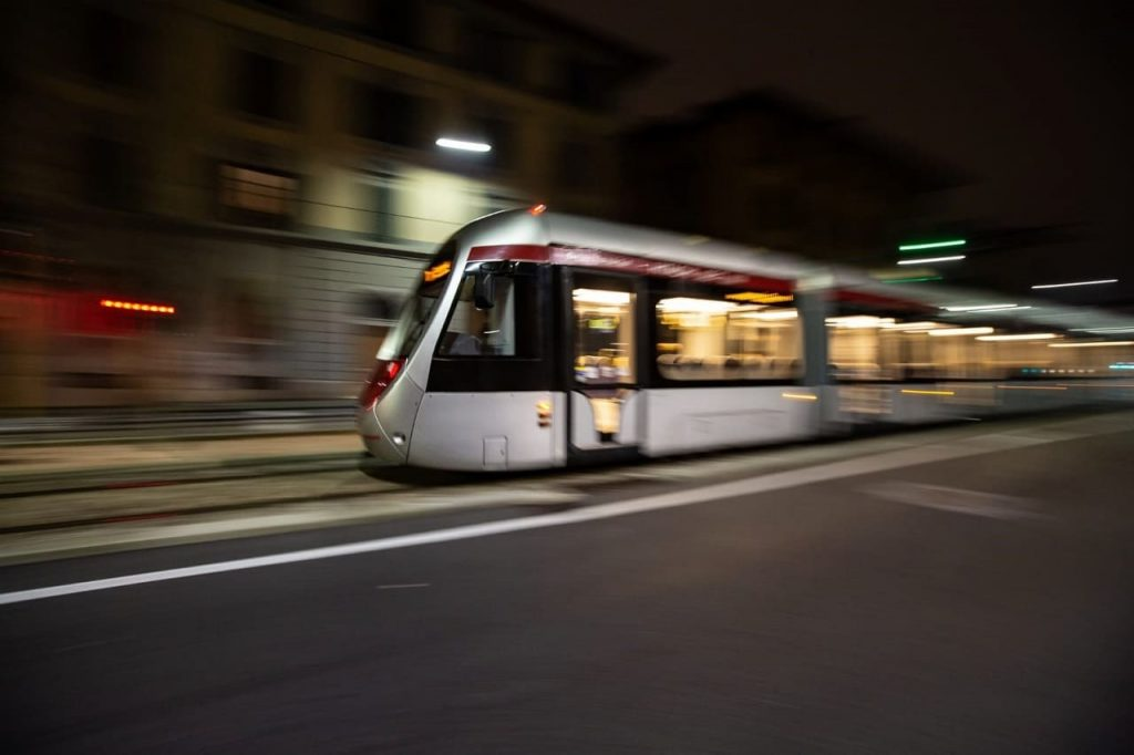 electric tram infrastructure, Florence