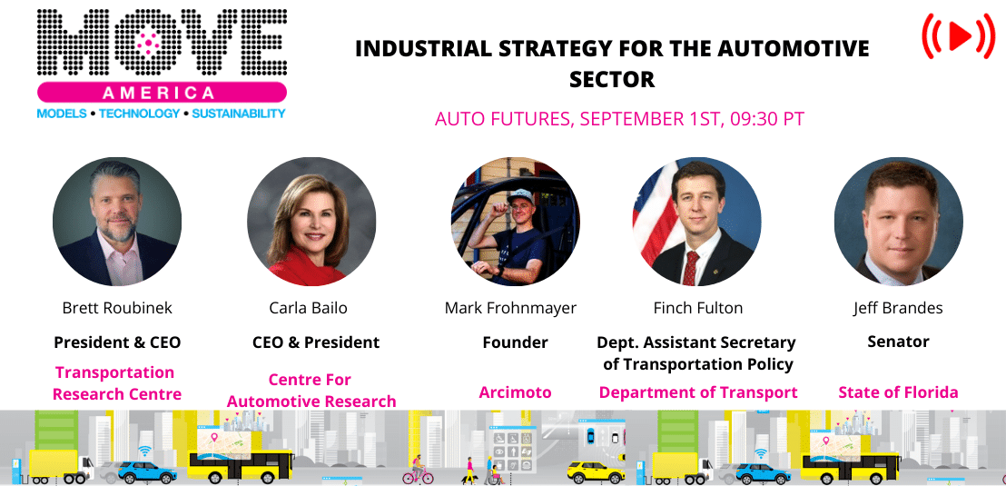 INDUSTRIAL STRATEGY FOR THE AUTOMOTIVE SECTOR
