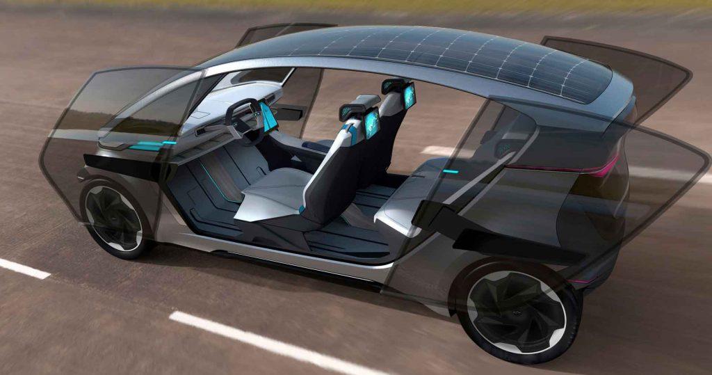 Japanese/Australian collaboration delivers lightweight platform for modular EV concept
