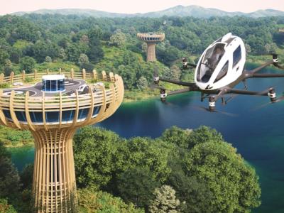 It's a bird, it's a plane, it's a Boabab tree inspired vertiport