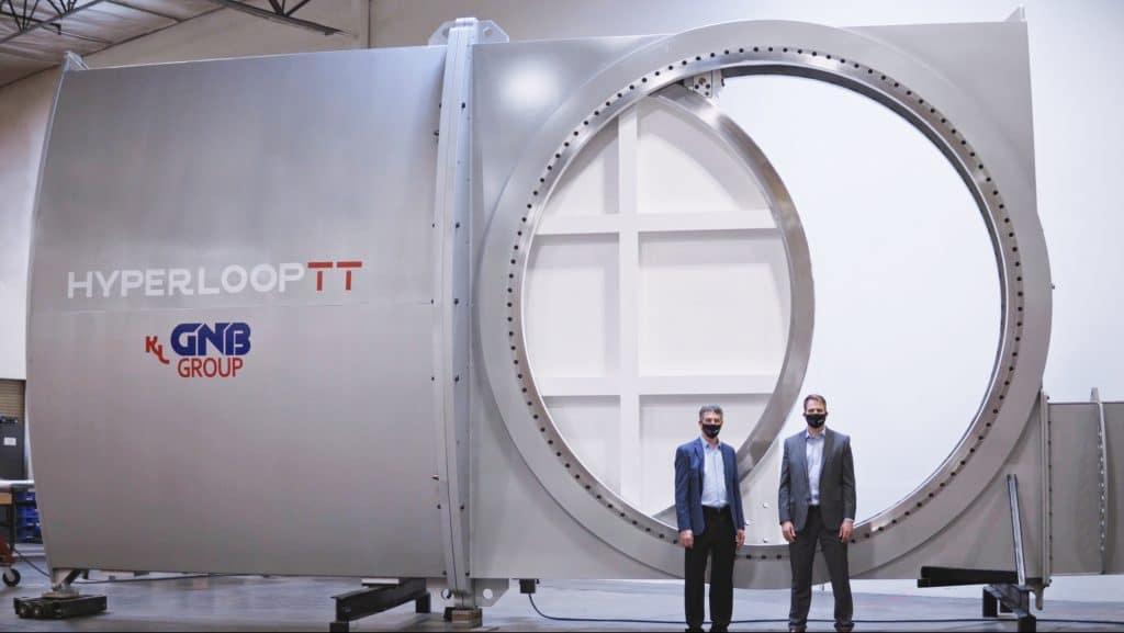 Hyperloop breakthrough with design of new safety valves
