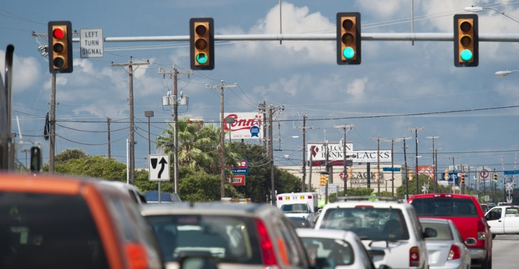 INRIX analysis suggests big health and environment gains from re-timing traffic lights