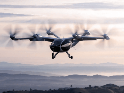 """""""Venture capital at scale deal"""" secures major boost for aerial ridesharing"""