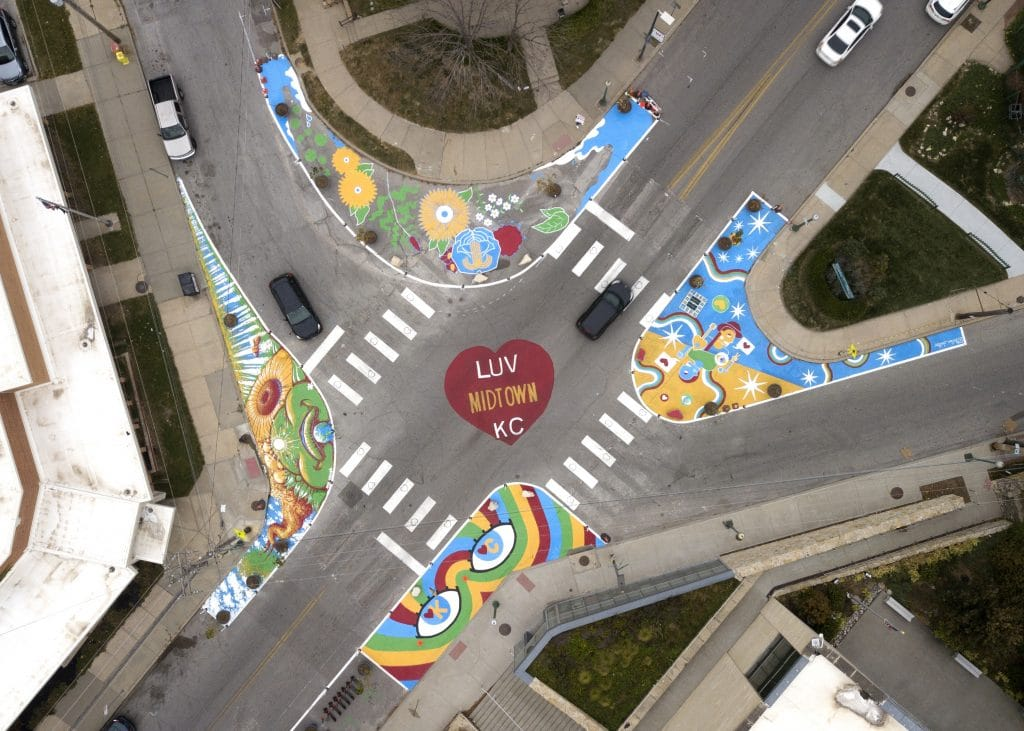 US cities bring creativity to blacktop transforming streets and public spaces