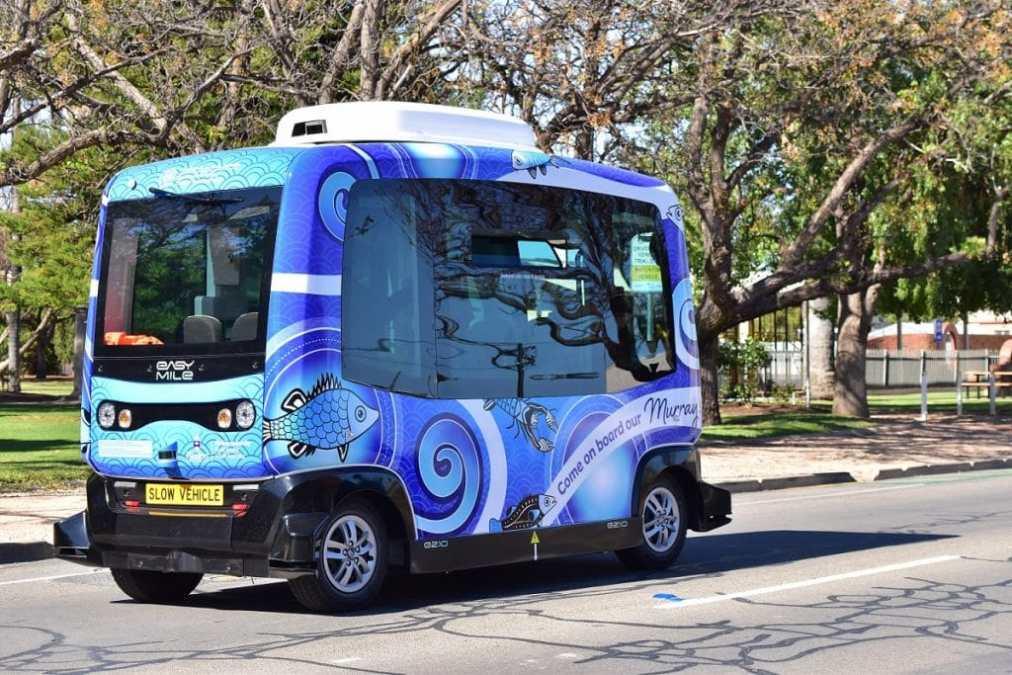 Australian autonomous electric shuttle city trial to run on open roads