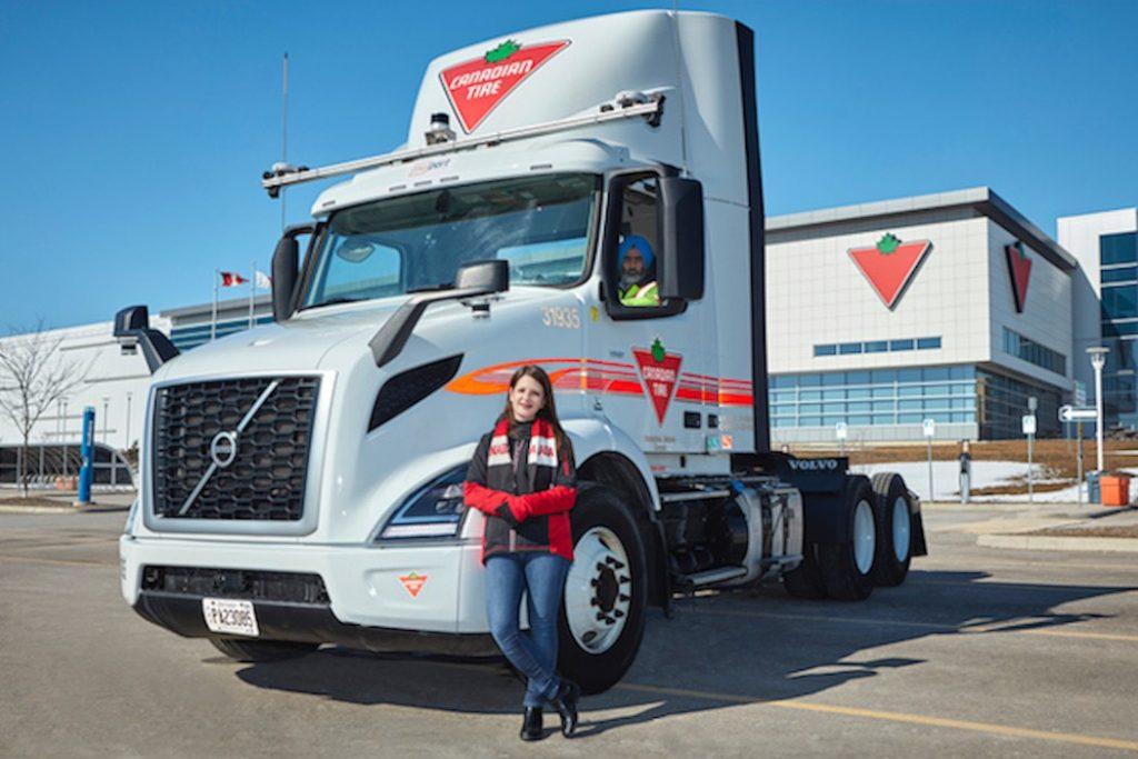 "Canadian autonomous trucking startup develops ""middle mile"" solution"