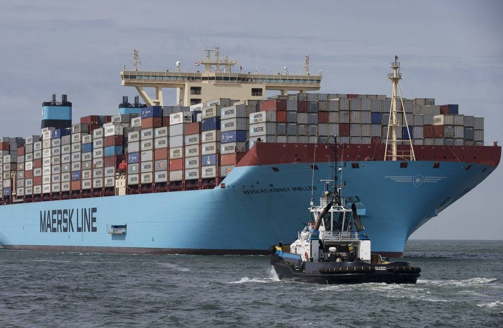 Maersk plans to put world's first carbon neutral containership in operation by 2023