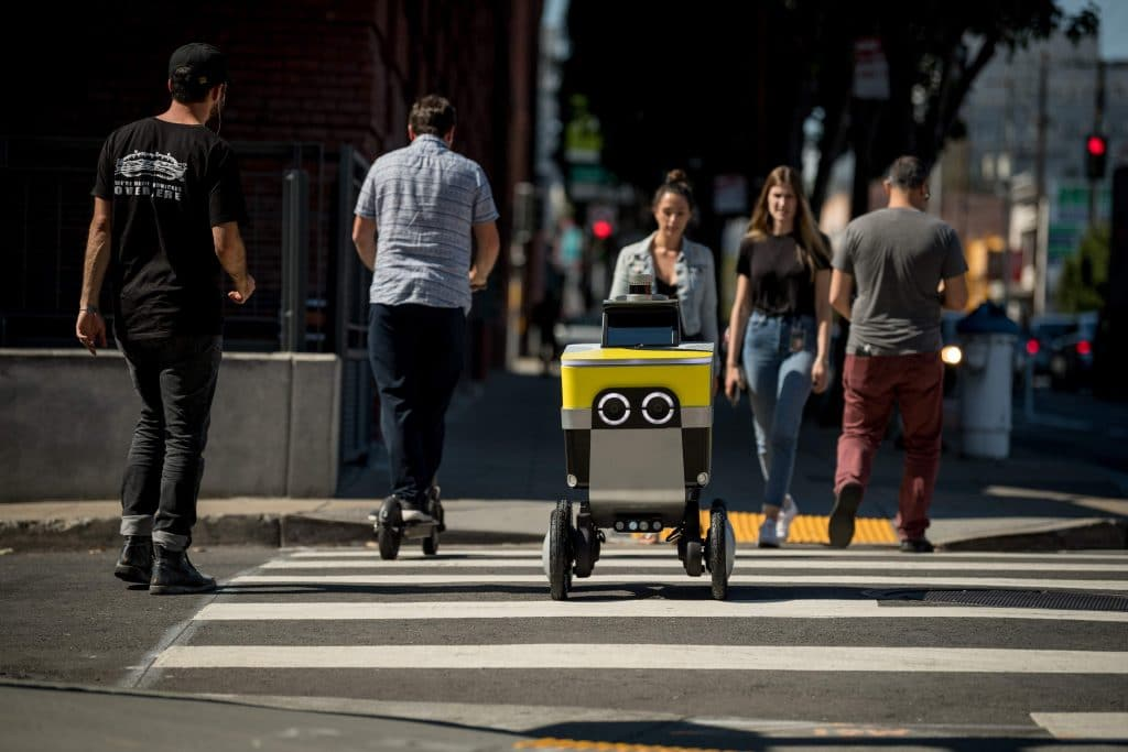 Funding boost for autonomous home delivery robots
