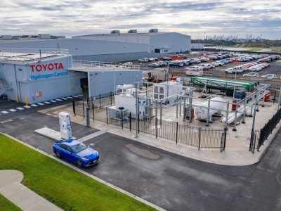 Toyota and Hyundai both push Australian hydrogen fuel stations