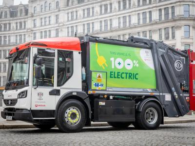 London introduces electric fleet for recycling and waste collection