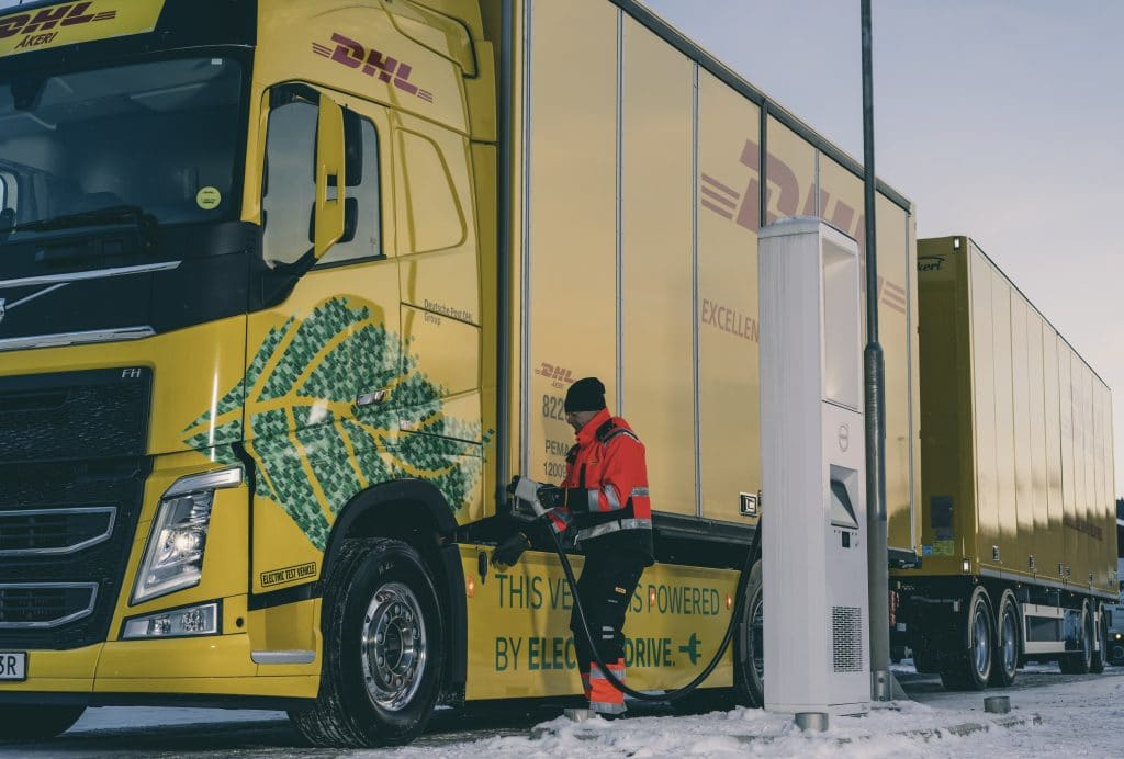 DHL Freight and Volvo Trucks collaborate on fossil-free long haul road transport
