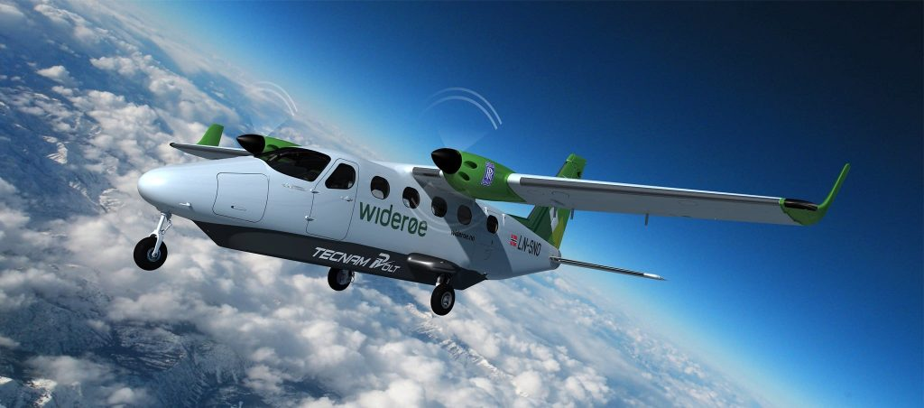 Sustainable aviation partnership aims to put world's first all-electric passenger aircraft into service within five years