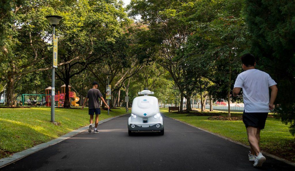 Singapore trials autonomous robot parcel and grocery deliveries