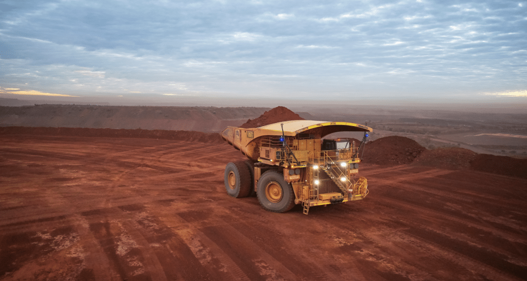 Williams partners with Fortescue to develop battery-electric mining haul truck