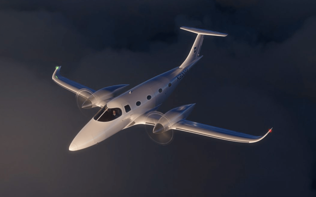 All-electric plane propulsion technology matches twin turboprop performance