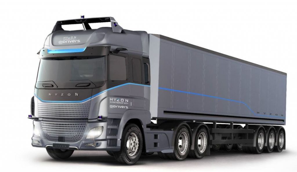 Hyzon pioneers lifecycle leasing model for heavy duty hydrogen vehicles in Europe