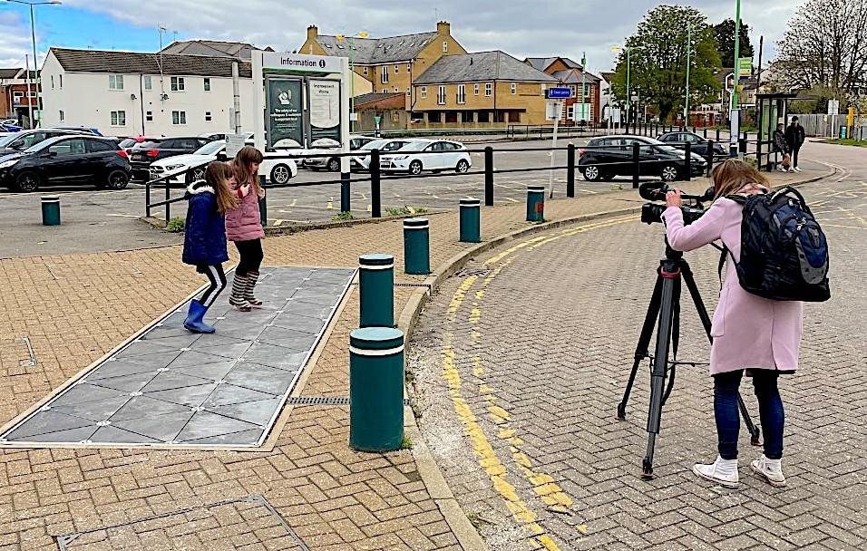UK train station harvests kinetic energy from passenger footsteps