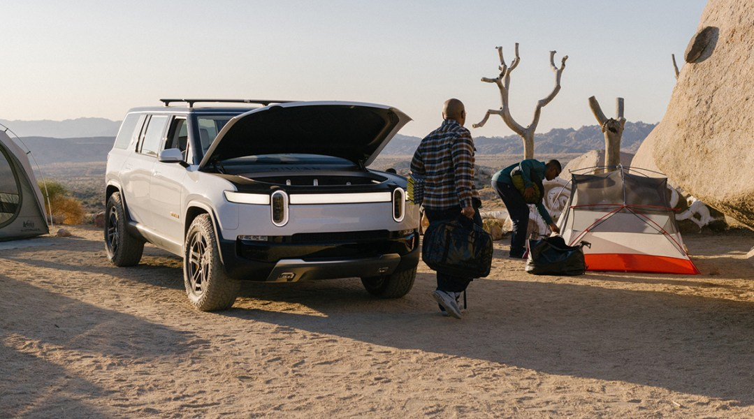 Rivian takes exclusive approach to EV charging in out of the way locations