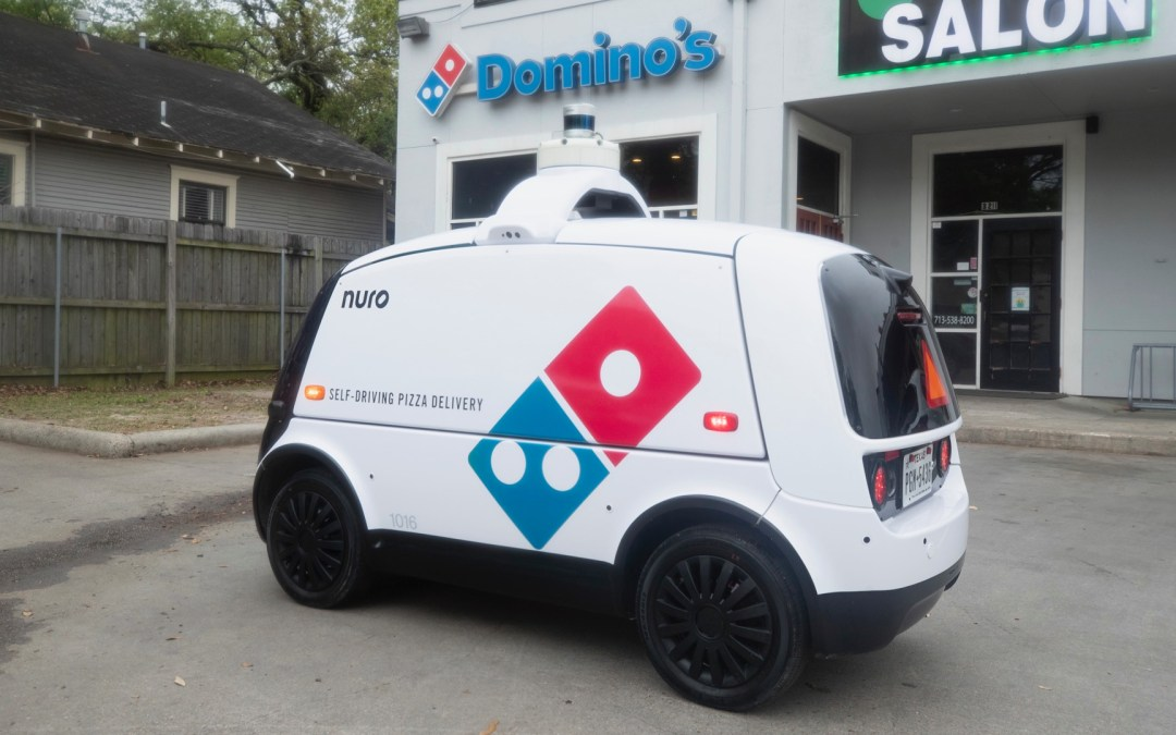 Nuro offers driverless delivery to Domino's pizza customers in Houston