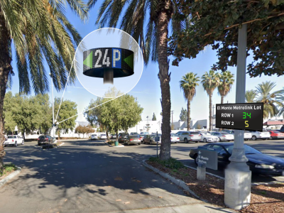 Los Angeles suburb adopts smart parking to support the high street and encourage train ridership