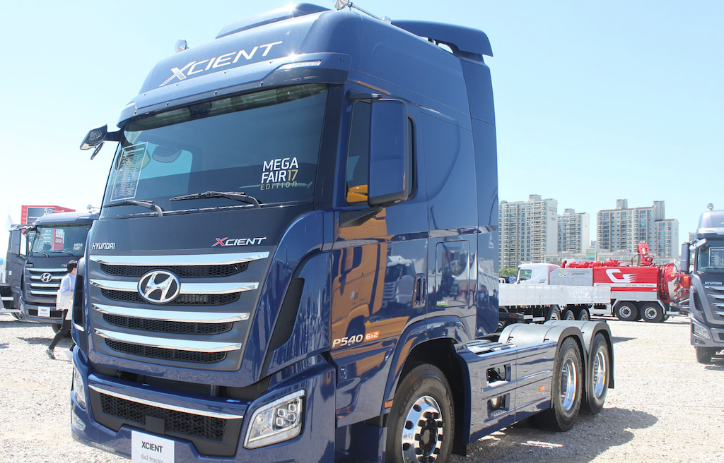 Hyundai puts down marker for Europe's hydrogen-powered heavy goods transport