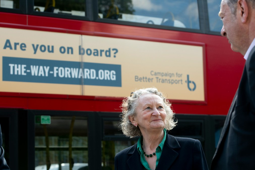 UK transport charity launches campaign to get people back on public transport