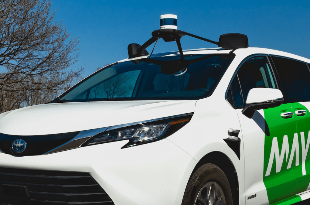 """May Mobility equips Toyota to test """"Autono-MaaS"""" service in Ann Arbor"""