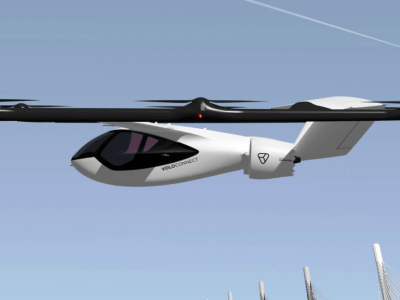 Velocopter's newest eVTOL aircraft built for longer flights and higher payloads