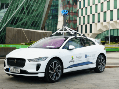 Electric Google Street View vehicles double up as Dublin mobile air quality sensors