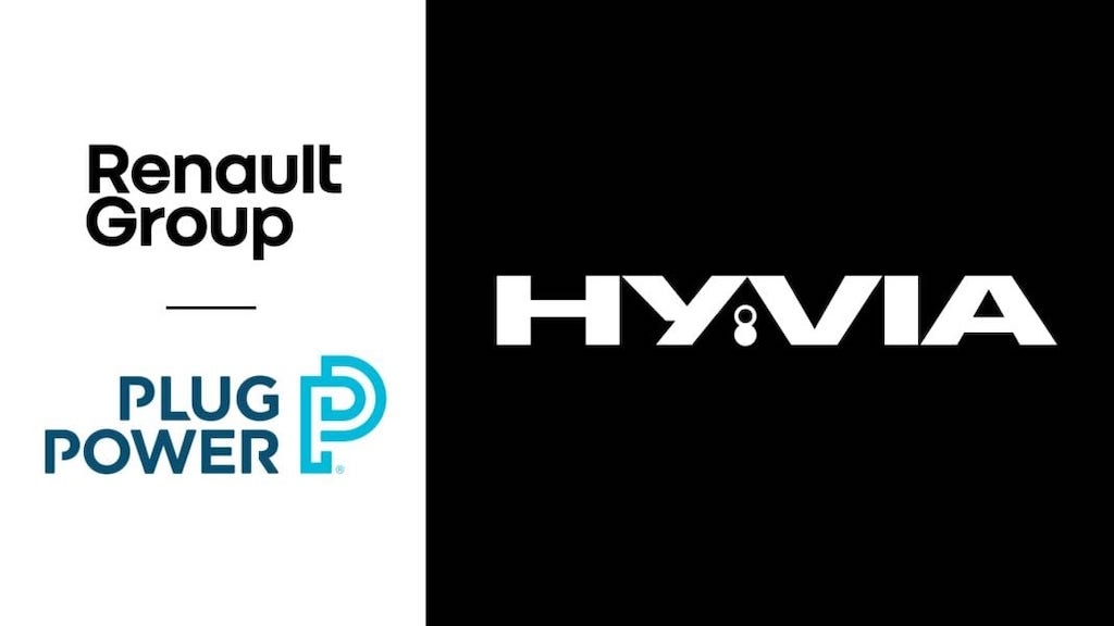 Renault and Plug Power joint venture to develop commercial vehicle hydrogen ecosystem