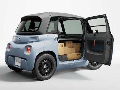 My Ami Cargo – probably a very sensible alternative to an e-cargo bike