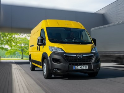 Opel launches Movano-e, its first electric large van and rival to Ford's Transit
