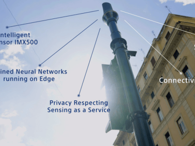 """Rome congestion trial pioneers """"data-only"""" vision technology overcoming smart city privacy issues"""