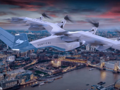 SPAC deal sees eVTOL startup Vertical Aerospace becomes a unicorn