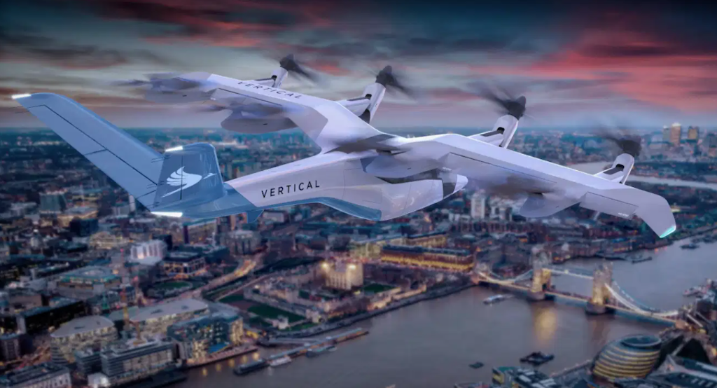 SPAC deal sees eVTOL startup Vertical Aerospace become a unicorn