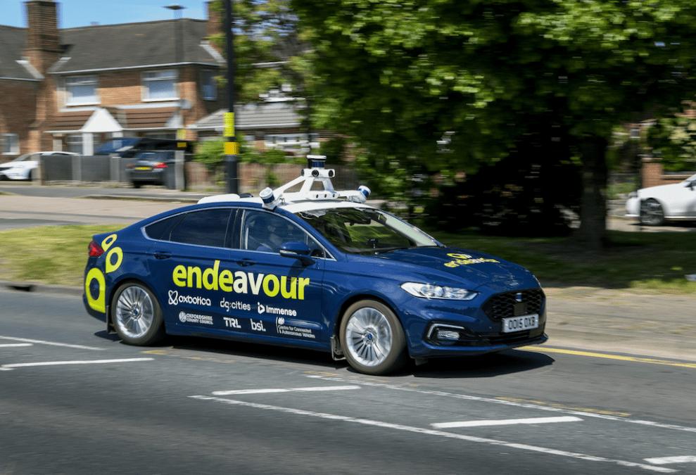 UK moves to next phase of autonomous vehicle trials on public roads