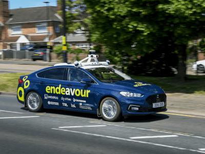 UK moves to next phase of autonomous vehicle trials on public roads.