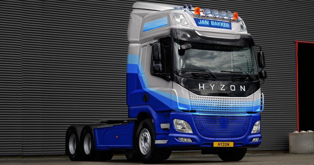 Dutch transport companies order 50-ton hydrogen trucks