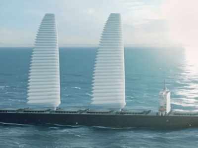 Inflatable wing sails could improve ship fuel efficiency by a fifth