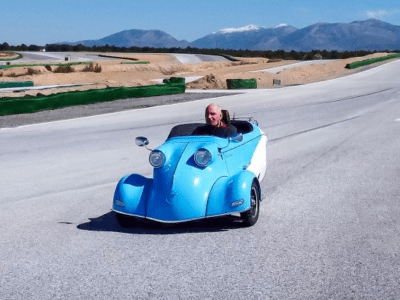 Another electric, retro-iconic microcar comes to market…