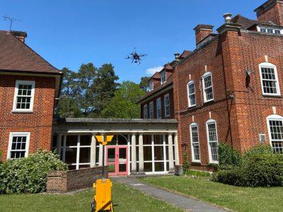 UK construction company trials Beyond Visual Line of Sight drone flight