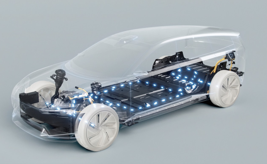 Volvo previews its future electric vehicles with the Concept Recharge