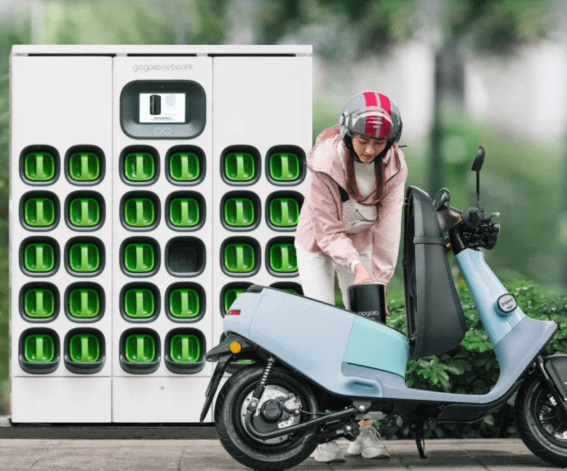 Gogoro signs deal with Foxconn to expand bike battery swap technology