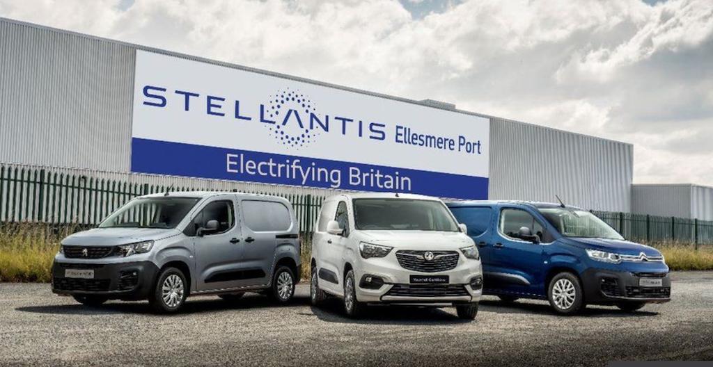 Stellantis gives Vauxhall UK plant an electric-van lifeline