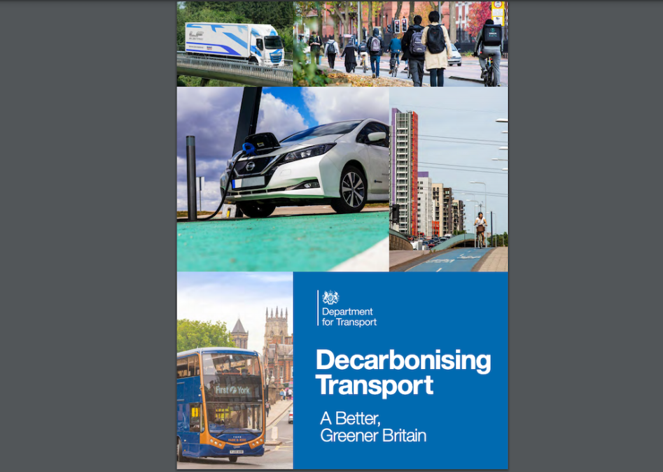 UK publishes plan to decarbonise its entire transport system by 2050