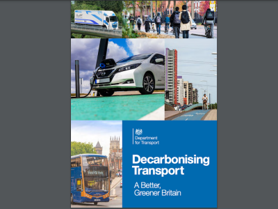 UK Government publishes plan to decarbonise the entire UK transport system by 2050