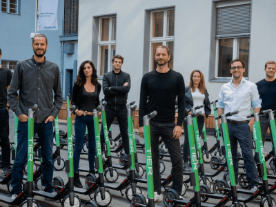 TIER offers visibility of nearby e-scooters through Google Maps