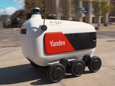 Russian self-driving robots selected for student food delivery across US campuses
