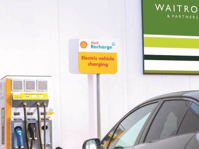 Shell ties up with UK supermarket chain doubling access to Shell Recharge stations